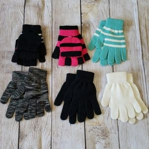 Mittens Bundles of 6 pairs! New Without Tags